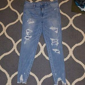 aeo 360° stretch skinny jeans